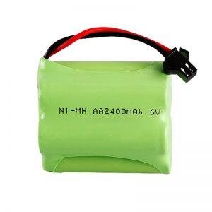 NiMH oplaadbare batterij AA2400 6V