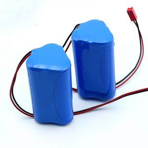 Oplaadbare Li-ion 3S1P 18650 10.8v 2250mah lithium-ionbatterijpak voor medisch apparaat
