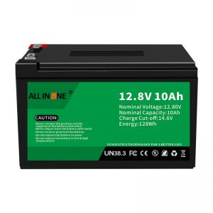 12,8V 10Ah LiFePO4 Lood-zuur vervangende lithium-ionbatterij 12V 10Ah