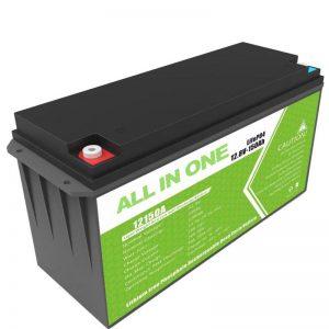 Grote capaciteit 12.8v 150ah lithiumbatterij voor thuis zonne-opslag