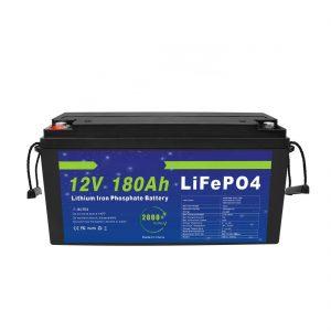 LiFePO4 lithiumbatterij 12V 180Ah voor opslagsystemen voor zonne-energie voor elektrische fietsen