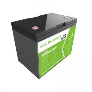 Hotsale 12.8V 80Ah Lithion-ionenbatterij voor back-upvoeding voor zonne-energieopslag vervangt Loodzuurbatterij met lange levensduur