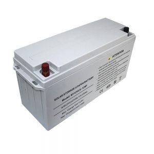 Energieopslag LiFePO4-batterij 12V 80Ah zonnebatterijen voor voedingen
