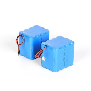 Aangepaste oplaadbare lithiumbatterij 18650 hoge ontlading 3s4p 12v li-ionbatterijpak