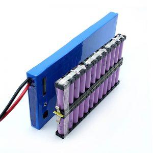 ALL IN ONE Groothandel 12S2P 18650 li-ionbatterij 44.4V 6Ah voor elektrisch skateboard: