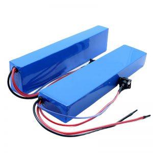 ALL IN ONE 13S4P 18650 e-bike 384w batterij bagagedrager ebike batterij 48v 8Ah