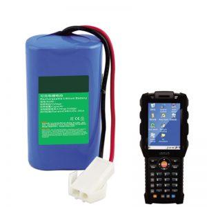 18650 7.2V 2.6Ah lithiumbatterij voor handheld-terminalapparatuur voor Express-logistiek