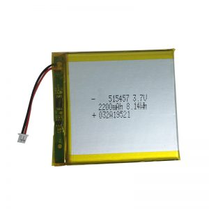 3,7 V 2200 mAh Polymeer-lithiumbatterijen voor smarthome-apparaten