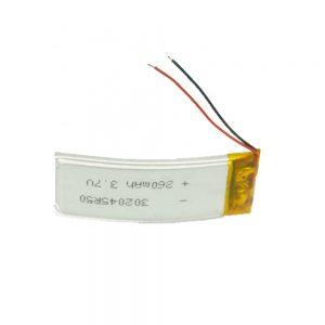 Aangepaste LiPO-batterij 302045 3,7 V 260 mAh