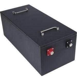 Deep Cycle 36V Battery Pack 12S1P LFP Lithium ion 36V Battery Pack Rickshaw EV RV AGV E-bike Lifepo4 36V 100Ah Batterie