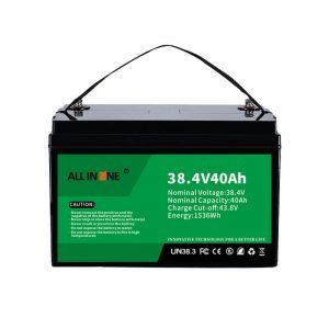8.4V 40Ah Lithium-ijzerfosfaatbatterij voor VPP/SHS/Marine/Voertuig 36V 40Ah