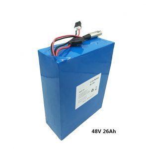 48v26ah lithiumbatterij voor etwow elektrische scooters elektrische motorfiets grafeenbatterij 48 volt lithiumbatterij fabrikanten