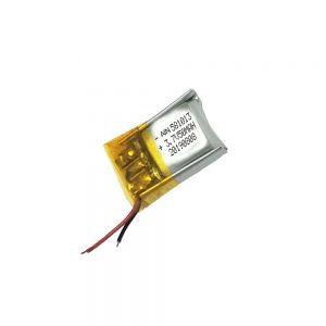 Hoogwaardige lithium-polymeerbatterij 3,7 V 50 mAh 581013-batterij