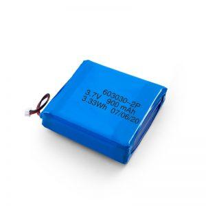 Aangepaste oplaadbare 3,7 V 450530550700750800900 mAh Li-Po Lipo-batterij