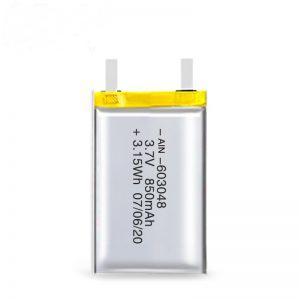 LiPO oplaadbare batterij 603048 3.7V 850mAh / 3.7V 1700mAH / 7.4V 850mAH