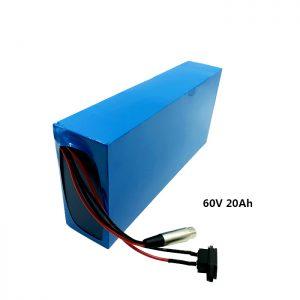 Aangepaste herlaad batterij 60v 20ah EV batterij lithium