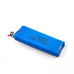 LiPO oplaadbare batterij 651648 3.7V 460mAh / 3.7V 920mAH / 7.4V 460mAH