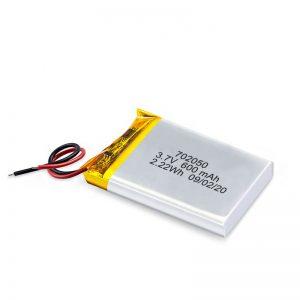 China Wholesale 3.7V 600Mah 650Mah Mini Li-Polymer Lithium Batterij Oplaadbare batterijen Pack voor speelgoedauto