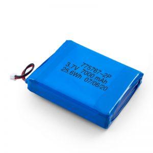 Aangepast 3,7 V 2450 2600 3900 4000 4500 4700 5000 6000 9000 mAh Polymeer Lipo-batterij