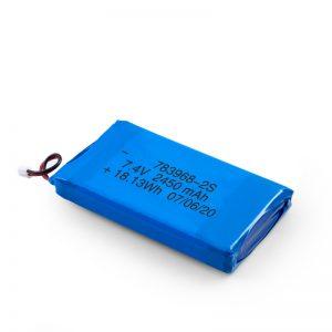 LiPO oplaadbare batterij 783968 3,7 V 4900 mAH / 7,4 V 2450 mAH / 3,7 V 2450 mAH /