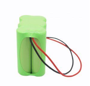 NiMH oplaadbare batterij AA 2100 mAh 7,2 V.