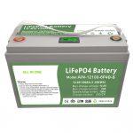ALLES IN ÉÉN Deep-cycle 12V100Ah LiFePO4-batterij met intelligent BMS voor huishoudelijk energieopslagsysteem