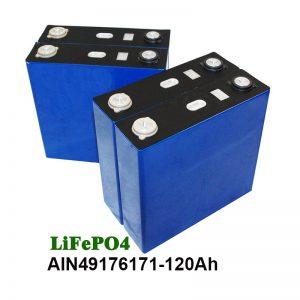 LiFePO4 prismatische batterij 3.2V 120AH voor zonnestelsel motorfiets UPS
