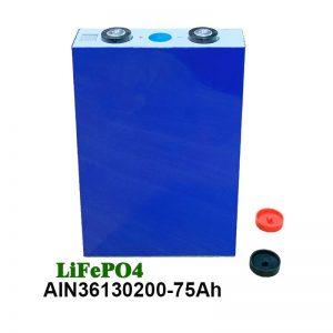 LiFePO4 prismatische batterij 36130200 3.2V 75AH