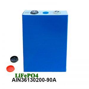 LiFePO4 Prismatische Batterij 3.2V 90AH lifepo4 cell oplaadbare batterij voor auto elektrisch gereedschap elektrische rolstoel