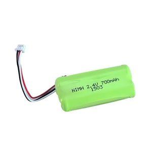 NiMH oplaadbare batterij AA700 2,4 V.