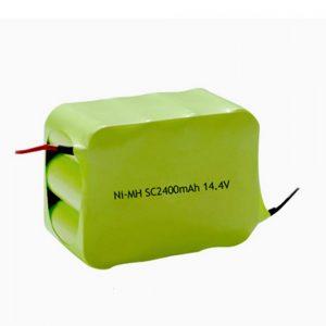 Oplaadbare NiMH-batterij SC 2400mAH 14,4V