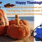 ALLES IN ÉÉN batterij Thanksgiving-brief aan klanten