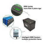 Basisparameters van lithiumbatterij: