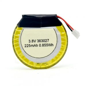 LiPO aangepaste batterij 363027 3.7V 225mAH